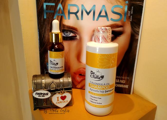 Şampon Farmasi cu gălbenele