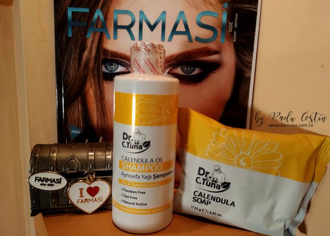 Şampoane Farmasi cu gălbenele