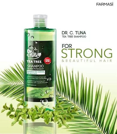Şampon cu extract natural de arbore de ceai