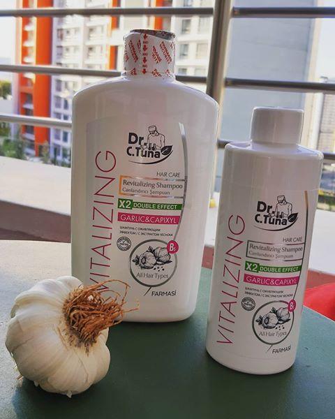 Şampon Farmasi cu usturoi şi capixyl