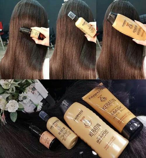 Set keratină Farmasi şampon