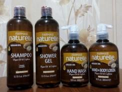 Şampon cu ulei de argan şi cafeină Naturelle
